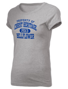 Christ Heritage Academy Bellflower Holloway Women's Groove T-Shirt