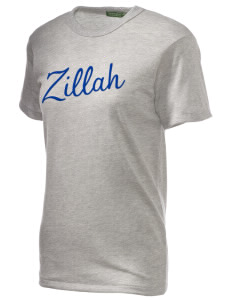 Christian Worship Center Zillah Embroidered Alternative Unisex Eco Heather T-Shirt