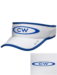 Christian Worship Center Zillah Embroidered Lite Series Active Visor