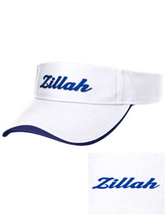 Christian Worship Center Zillah Embroidered Binding Visor