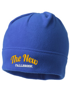The New School Fallbrook Embroidered Fleece Beanie