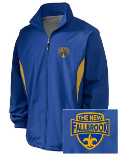 The New School Fallbrook Embroidered Holloway Men's Full-Zip Jacket