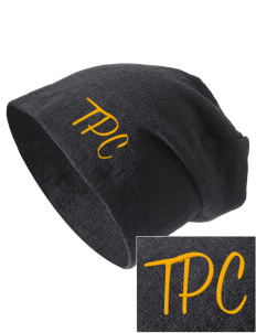 Tierra Pacifica Charter School Santa Cruz Embroidered Slouch Beanie