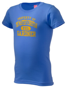 The Master's Christian Academy Gardner  Girl's Fine Jersey Longer Length T-Shirt