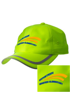 Einstein Elementary School Einstein Elementary  Embroidered Safety Cap
