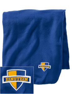 Einstein Elementary School Einstein Elementary Embroidered Holloway Stadium Fleece Blanket