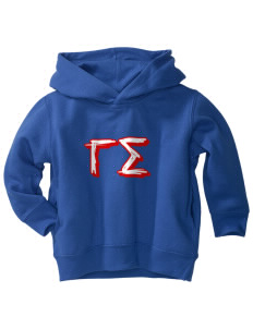 Gamma Sigma  Toddler Fleece Hooded Sweatshirt with Pockets