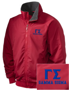 Gamma Sigma Embroidered Holloway Men's Tall Jacket