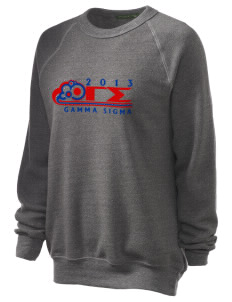 Gamma Sigma Unisex Alternative Eco-Fleece Raglan Sweatshirt