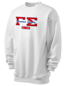Gamma Sigma Men's 7.8 oz Lightweight Crewneck Sweatshirt