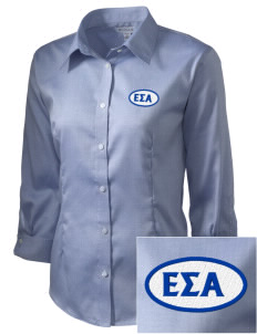 Epsilon Sigma Alpha Embroidered Women's 3/4 Sleeve Non-Iron