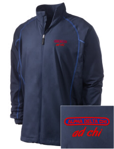 Alpha Delta Chi Embroidered Men's Nike Golf Full Zip Wind Jacket
