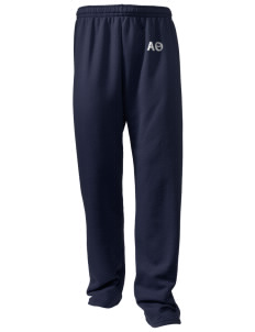 Alpha Theta Embroidered Holloway Men's 50/50 Sweatpants