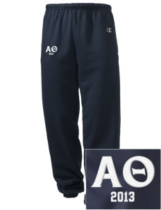 Alpha Theta Embroidered Champion Men's Sweatpants