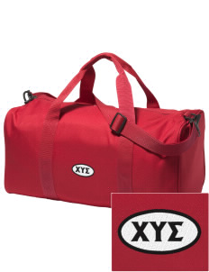 Chi Upsilon Sigma Embroidered Holloway Duffel Bag