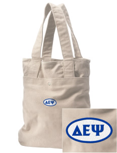 Delta Epsilon Psi Embroidered Alternative The Berkeley Tote