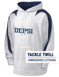 Delta Epsilon Psi Holloway Men's Sports Fleece Hooded Sweatshirt with Tackle Twill