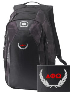 Delta Phi Omega Embroidered OGIO Marshall Backpack