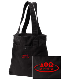 Delta Phi Omega Embroidered Alternative The Berkeley Tote