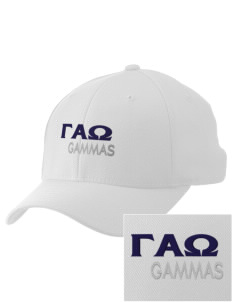Gamma Alpha Omega Embroidered Pro Model Fitted Cap