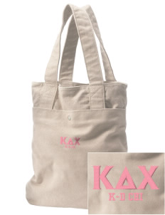 Kappa Delta Chi Embroidered Alternative The Berkeley Tote