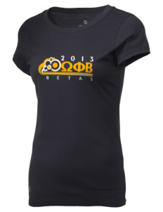 Omega Phi Beta Holloway Women's Groove T-Shirt