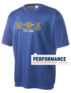 Omega Phi Chi Men's Competitor Performance T-Shirt