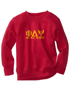 Phi Delta Psi Toddler Crewneck Sweatshirt