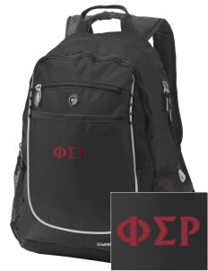 Phi Sigma Rho Embroidered OGIO Carbon Backpack