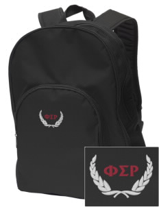 Phi Sigma Rho Embroidered Value Backpack