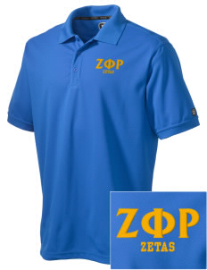 Zeta Phi Rho Embroidered OGIO Men's Caliber Polo