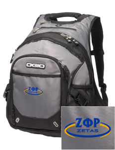 Zeta Phi Rho Embroidered OGIO Fugitive Backpack