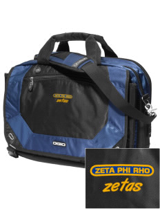 Zeta Phi Rho Embroidered OGIO Corporate City Corp Messenger Bag