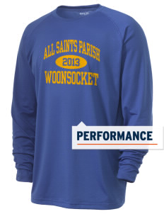 All Saints Parish Woonsocket Men's Ultimate Performance Long Sleeve T-Shirt