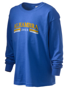All Souls Parish Alhambra Kid's 6.1 oz Long Sleeve Ultra Cotton T-Shirt