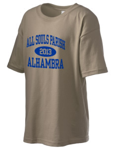 All Souls Parish Alhambra Kid's 6.1 oz Ultra Cotton T-Shirt