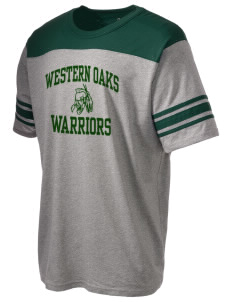 Western Oaks Elementary School Warriors Holloway Men's Champ T-Shirt