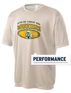 Western Oaks Elementary School Warriors Men's Competitor Performance T-Shirt