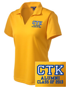 Christ the King Leechburg Embroidered Women's Dri Mesh Polo