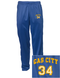 Holy Family Parish Gas City Embroidered Men's Tricot Track Pants