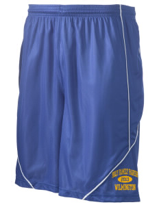 "Holy Family Parish Wilmington Men's Pocicharge Mesh Reversible Short, 9"" Inseam"