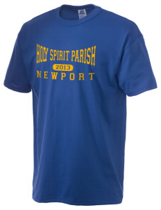 Holy Spirit Parish Newport  Russell Men's NuBlend T-Shirt