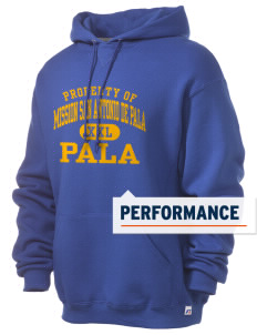 Mission San Antonio de Pala Pala Russell Men's Dri-Power Hooded Sweatshirt