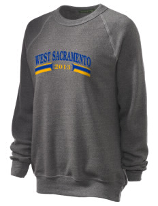 Our Lady of Grace Parish West Sacramento Unisex Alternative Eco-Fleece Raglan Sweatshirt