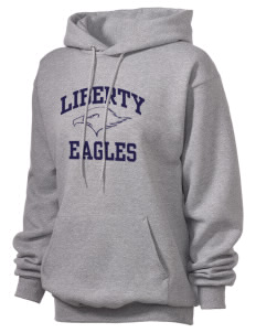 Liberty Elementary School Eagles Unisex Hooded Sweatshirt