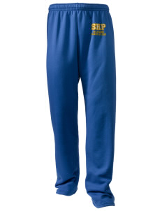 Sacred Heart Parish Ely Embroidered Holloway Men's 50/50 Sweatpants