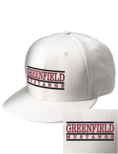 Greenfield Elementary School Mustangs  Embroidered New Era Flat Bill Snapback Cap