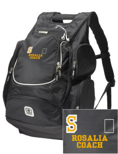 Sacred Heart Parish (Tekoa) Rosalia  Embroidered OGIO Bounty Hunter Backpack