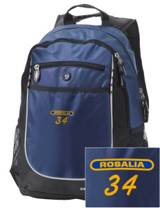 Sacred Heart Parish (Tekoa) Rosalia Embroidered OGIO Carbon Backpack