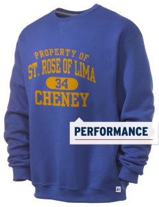 Saint Rose of Lima Cheney  Russell Men's Dri-Power Crewneck Sweatshirt